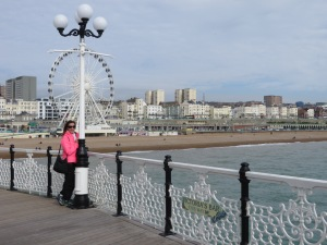 View from the famous Brighton Pier
