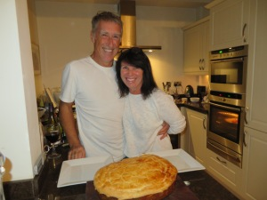 Teresa & Ian! Voila!! Steak and Guinness Pie!