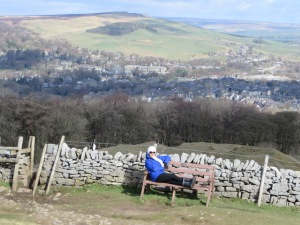 Our view of Buxton during mountain trek