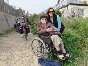Bev with Jean - fellow retired nurse