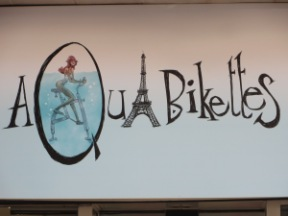AQUABIKES - latest craze to hit Europe -- Cycling in the bath!!.