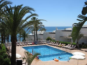 Our view at Leila Playa Club